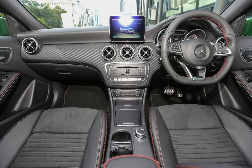 Mercedes-Benz A-Class facelift debuts: A180 Urban Line, A200 AMG Line, A250 Sport; RM196k to RM239k Image #453878