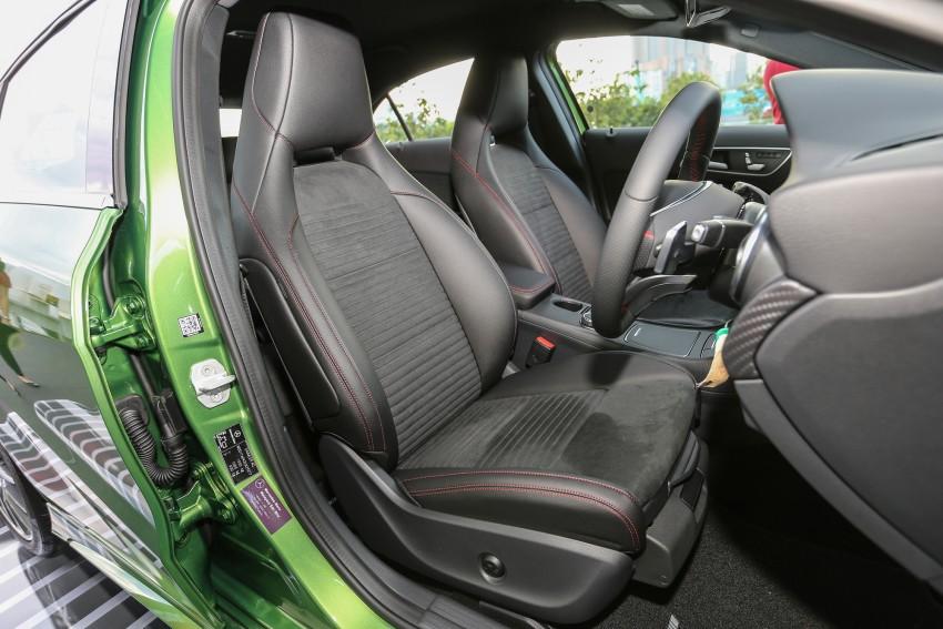 Mercedes-Benz A-Class facelift debuts: A180 Urban Line, A200 AMG Line, A250 Sport; RM196k to RM239k Image #453881