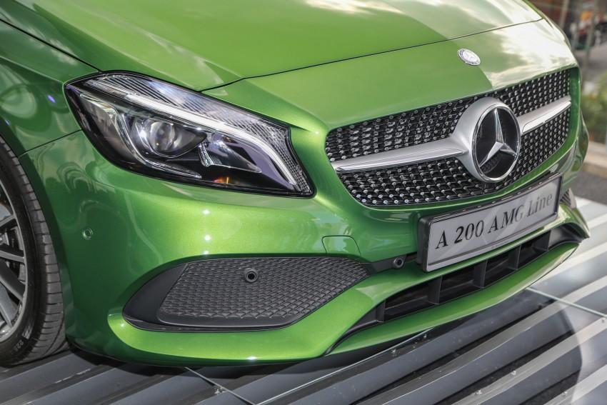 Mercedes-Benz A-Class facelift debuts: A180 Urban Line, A200 AMG Line, A250 Sport; RM196k to RM239k Image #453854