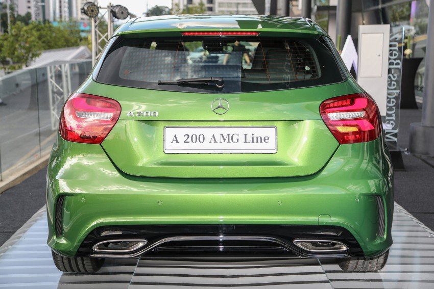 Mercedes-Benz A-Class facelift debuts: A180 Urban Line, A200 AMG Line, A250 Sport; RM196k to RM239k Image #453860