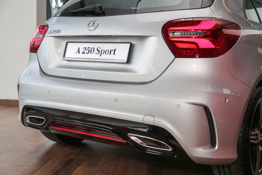 Mercedes-Benz A-Class facelift debuts: A180 Urban Line, A200 AMG Line, A250 Sport; RM196k to RM239k Image #453909