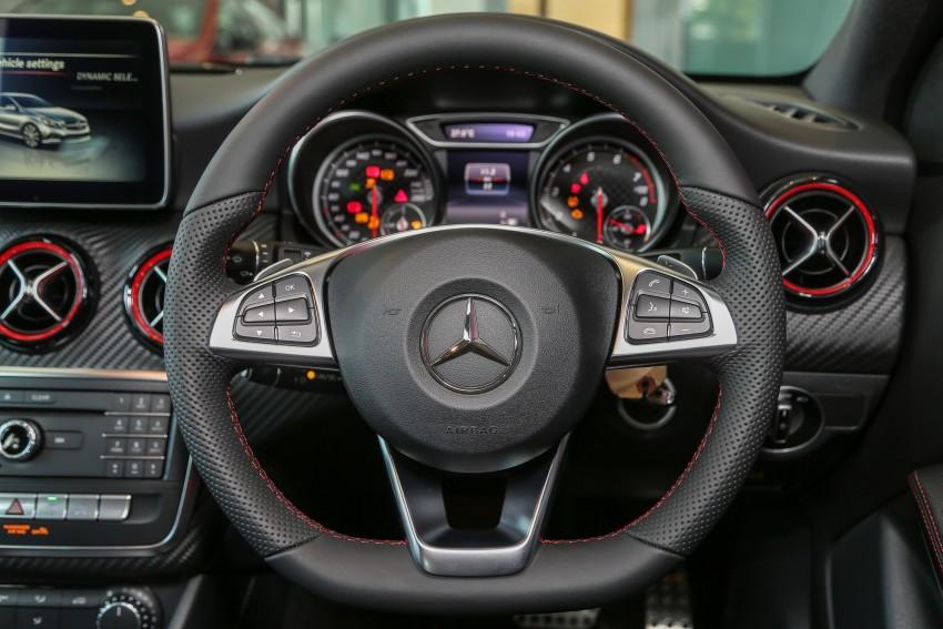 Mercedes-Benz A-Class facelift debuts: A180 Urban Line, A200 AMG Line, A250 Sport; RM196k to RM239k Image #453915