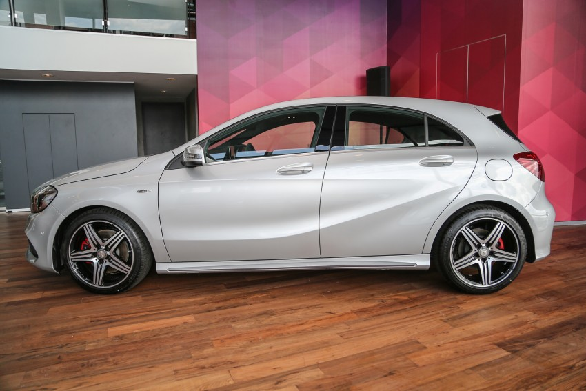 Mercedes-Benz A-Class facelift debuts: A180 Urban Line, A200 AMG Line, A250 Sport; RM196k to RM239k Image #453898