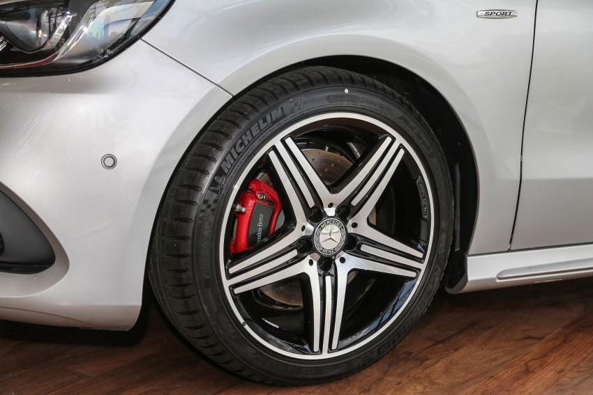 Mercedes-Benz A-Class facelift debuts: A180 Urban Line, A200 AMG Line, A250 Sport; RM196k to RM239k Image #453899