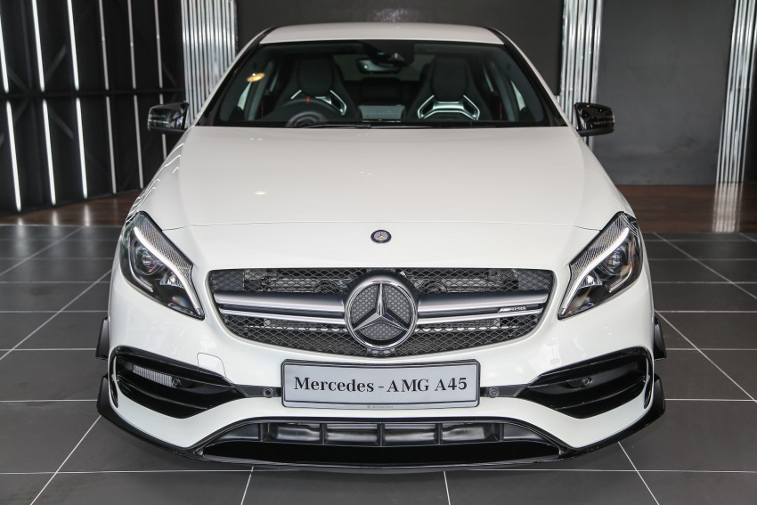 Mercedes-AMG A45 facelift in M'sia – 381 hp, RM349k Image #453973