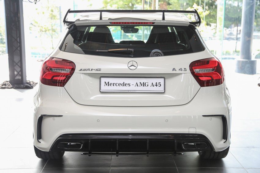 Mercedes-AMG A45 facelift in M'sia – 381 hp, RM349k Image #453987