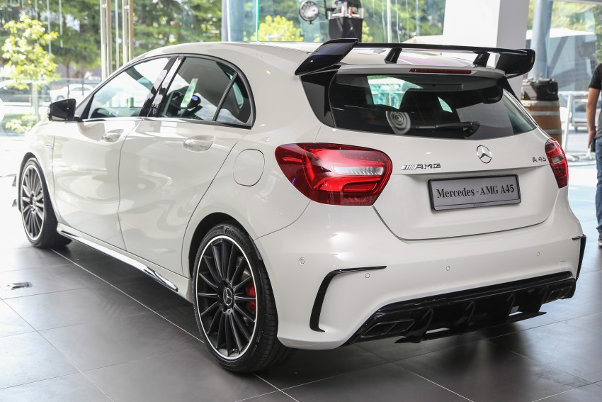 Mercedes-AMG A45 facelift in M'sia – 381 hp, RM349k Image #453988