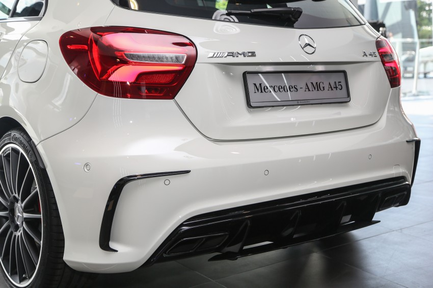 Mercedes-AMG A45 facelift in M'sia – 381 hp, RM349k Image #453990