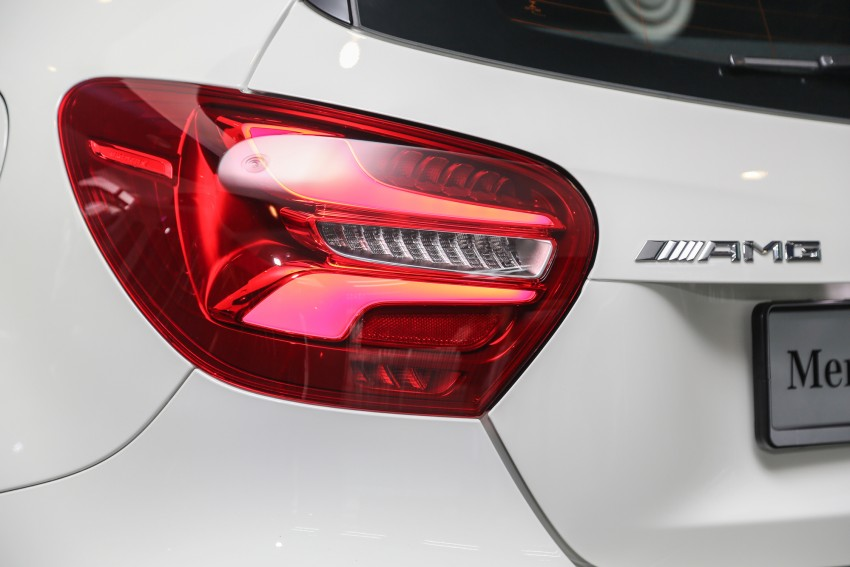 Mercedes-AMG A45 facelift in M'sia – 381 hp, RM349k Image #453991