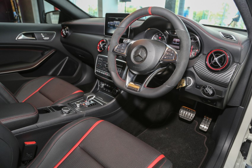 Mercedes-AMG A45 facelift in M'sia – 381 hp, RM349k Image #453997