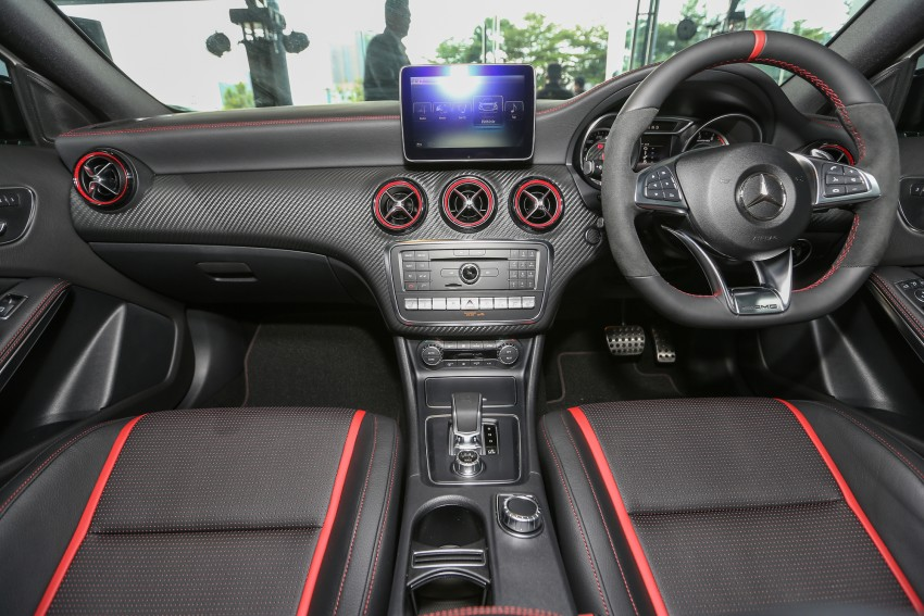 Mercedes-AMG A45 facelift in M'sia – 381 hp, RM349k Image #454006