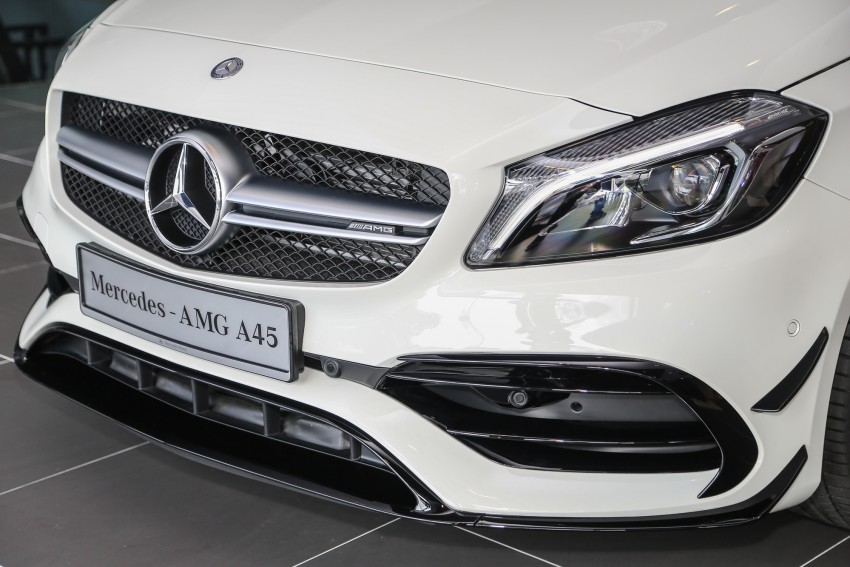 Mercedes-AMG A45 facelift in M'sia – 381 hp, RM349k Image #453976