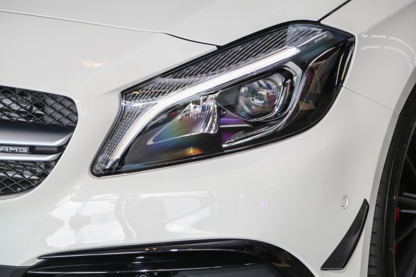 Mercedes-AMG A45 facelift in M'sia – 381 hp, RM349k Image #453977