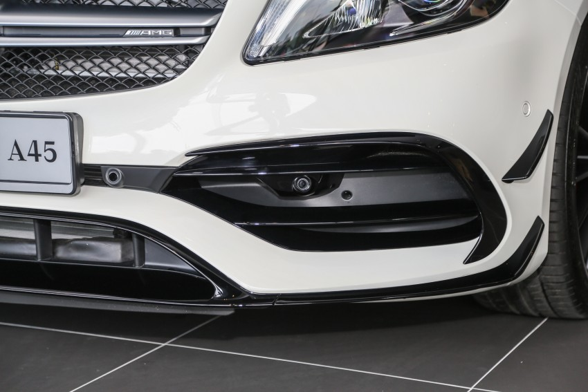 Mercedes-AMG A45 facelift in M'sia – 381 hp, RM349k Image #453978