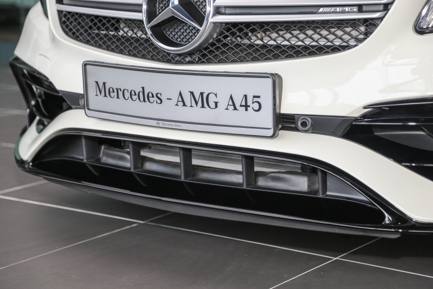 Mercedes-AMG A45 facelift in M'sia – 381 hp, RM349k Image #453980
