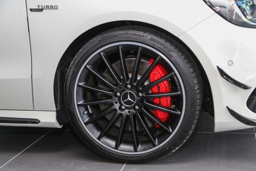 Mercedes-AMG A45 facelift in M'sia – 381 hp, RM349k Image #453984