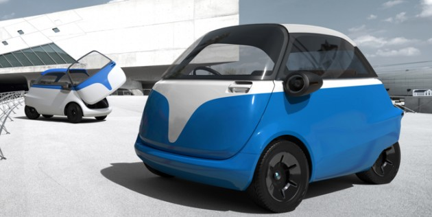 Car Transport Reviews >> Microlino - modernised all-electric Isetta micro-car