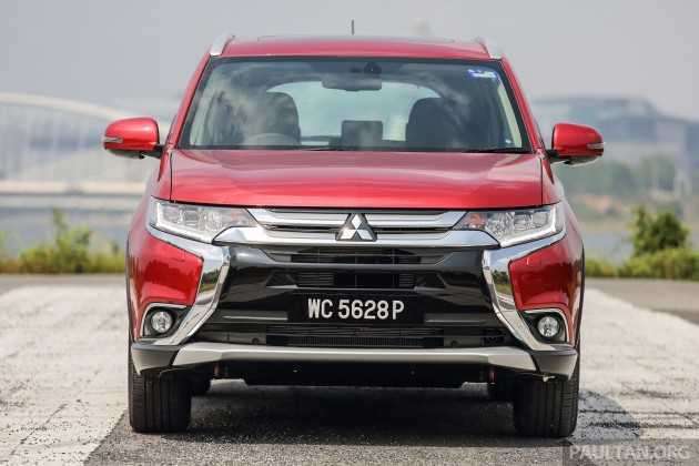 Mitsubishi Outlander Review 1