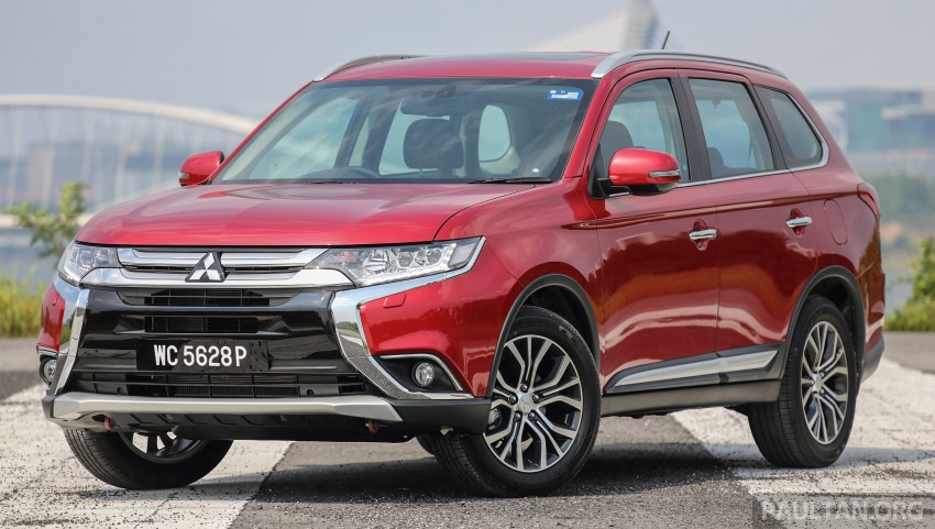 DRIVEN: Mitsubishi Outlander – fresh face, good value Image #469756