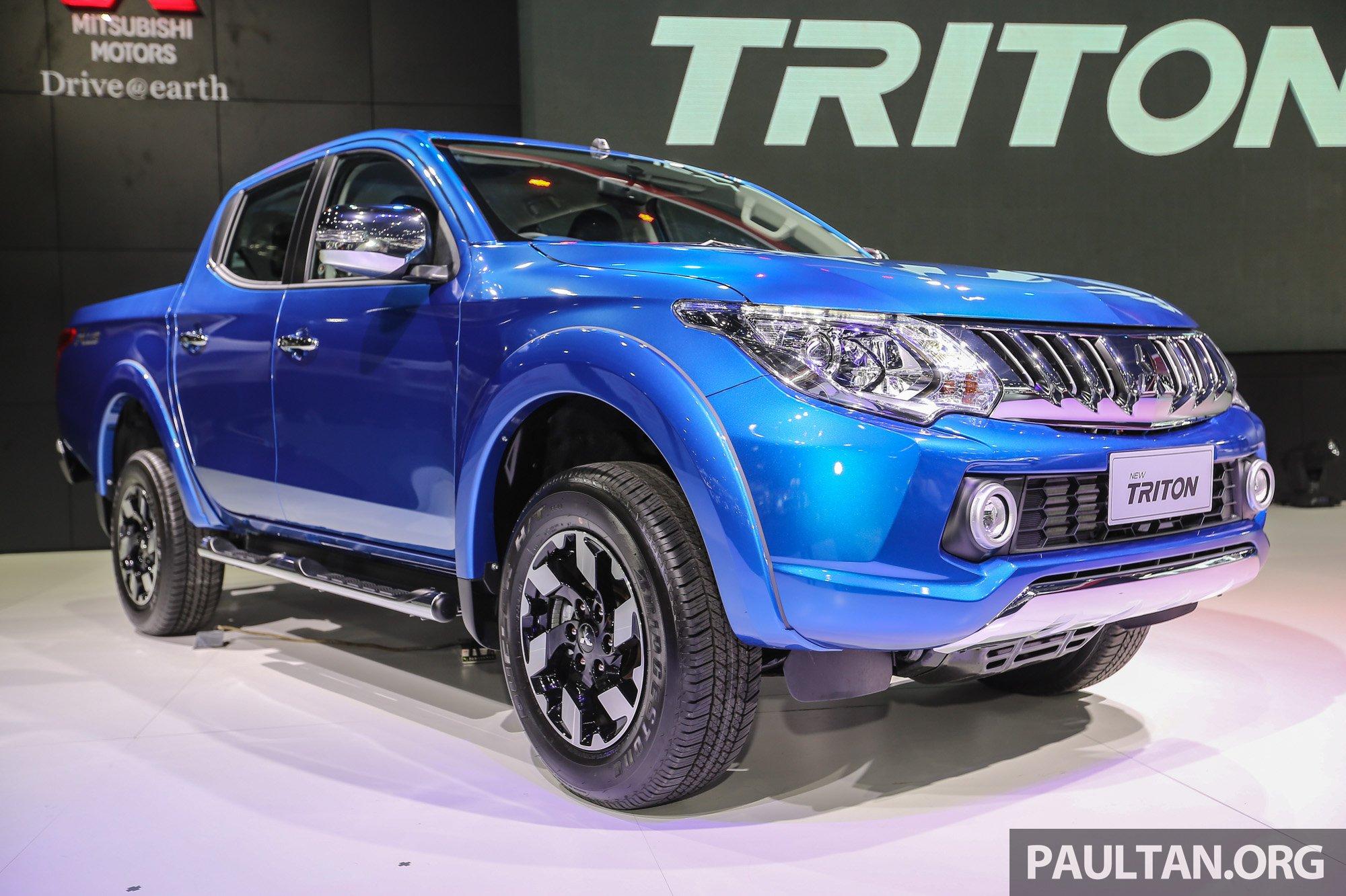 Gallery 2016 Mitsubishi Triton Updated In Thailand