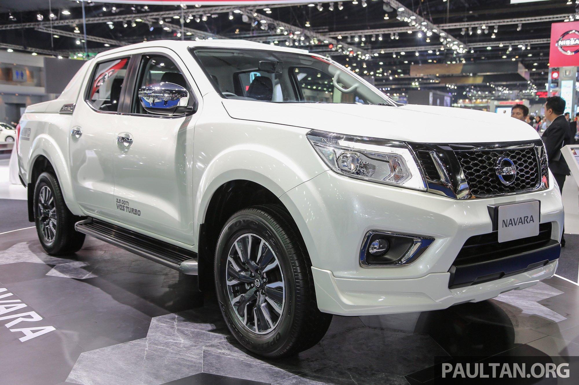 GALLERY: Nissan NP300 Navara Sportech in Bangkok