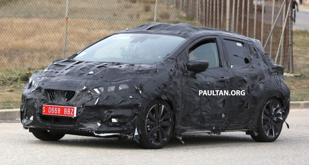 New Nissan March Spy-03
