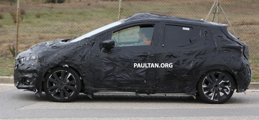 SPIED: New Nissan March to look like Sway concept Image #458914