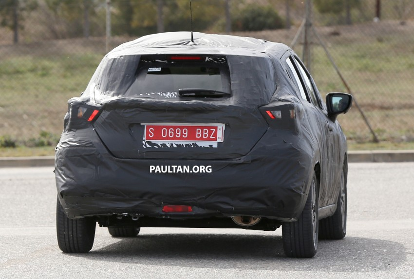 SPIED: New Nissan March to look like Sway concept Image #458917