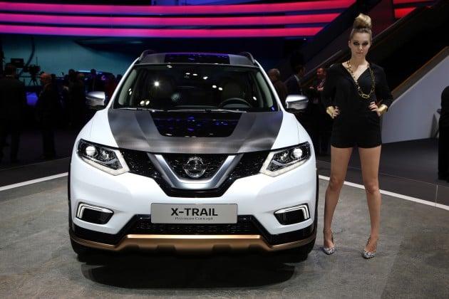 Nissan X-Trail, Qashqai Premium Concepts at Geneva