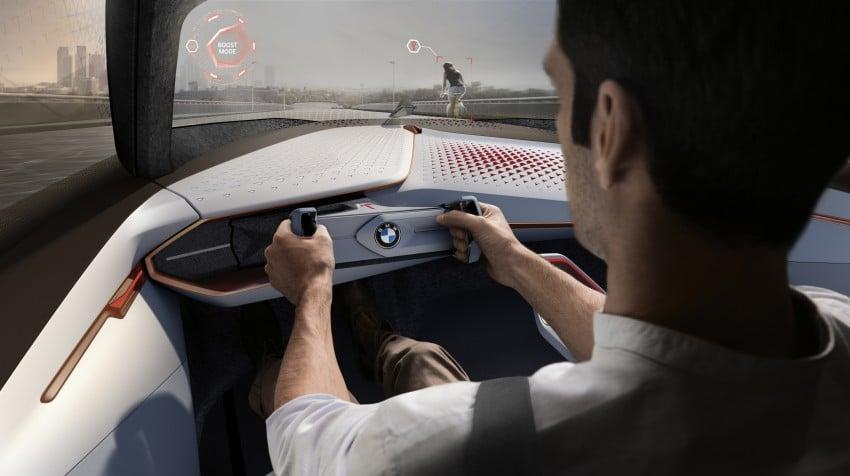 BMW Vision Next 100 tampil konsep teknologi yang bakal diterapkan BMW untuk 100 tahun akan datang Image #456678