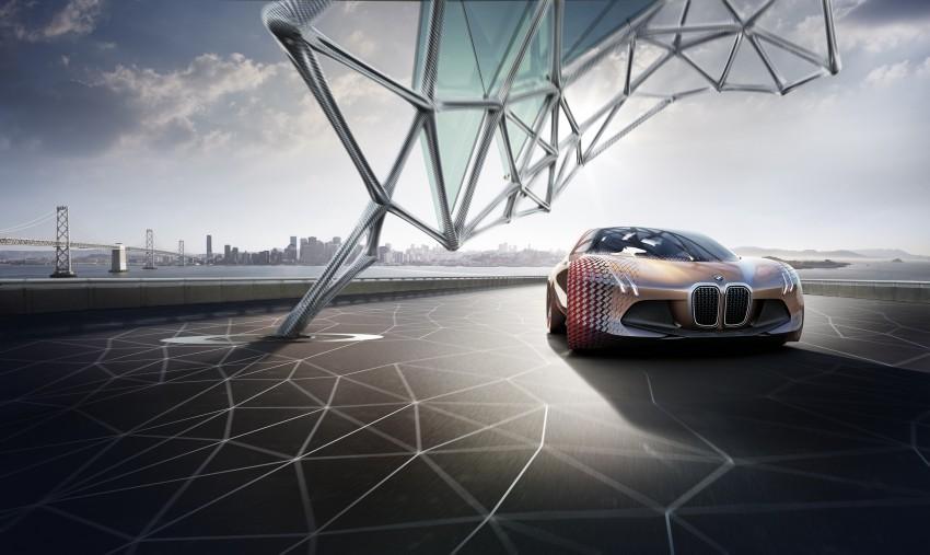 BMW Vision Next 100 tampil konsep teknologi yang bakal diterapkan BMW untuk 100 tahun akan datang Image #456677