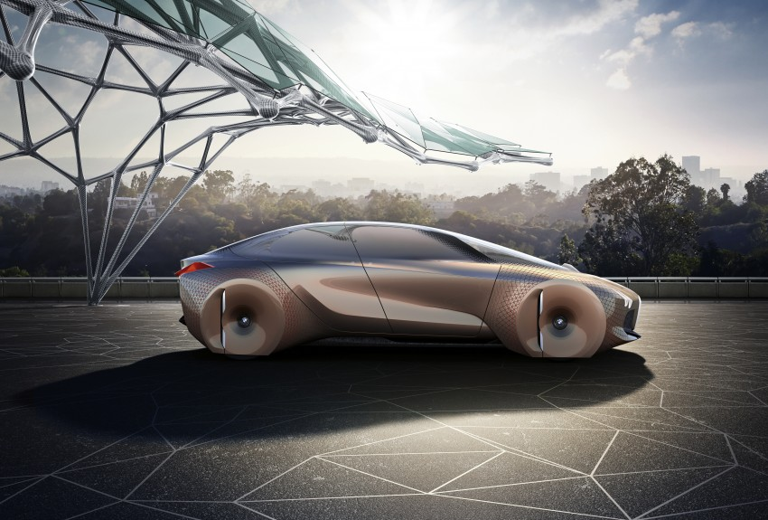 BMW Vision Next 100 tampil konsep teknologi yang bakal diterapkan BMW untuk 100 tahun akan datang Image #456671