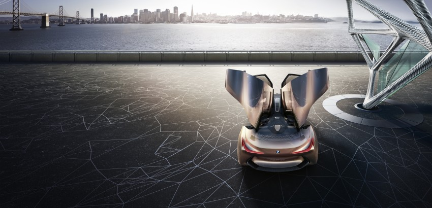 BMW Vision Next 100 tampil konsep teknologi yang bakal diterapkan BMW untuk 100 tahun akan datang Image #456669