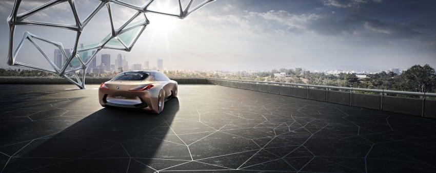 BMW Vision Next 100 tampil konsep teknologi yang bakal diterapkan BMW untuk 100 tahun akan datang Image #456668