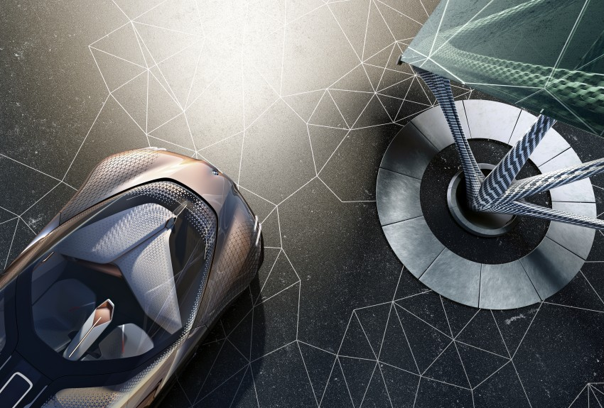 BMW Vision Next 100 tampil konsep teknologi yang bakal diterapkan BMW untuk 100 tahun akan datang Image #456667