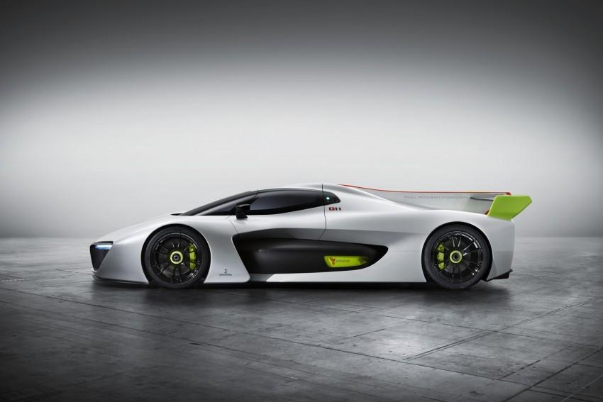 Pininfarina H2 Speed concept, a hydrogen supercar Image #453141
