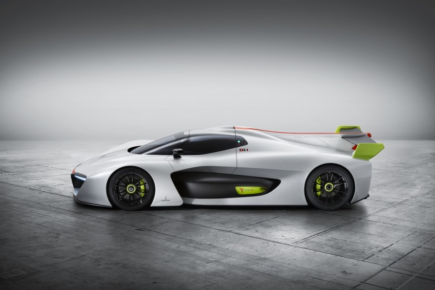 Pininfarina H2 Speed concept, a hydrogen supercar Image #453142