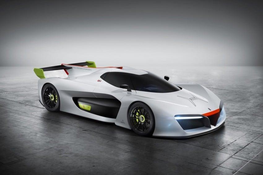 Pininfarina H2 Speed concept, a hydrogen supercar Image #453145