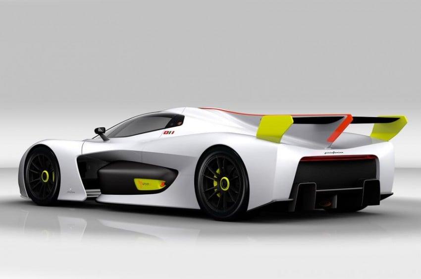 Pininfarina H2 Speed concept, a hydrogen supercar Image #453147