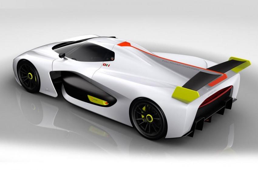 Pininfarina H2 Speed concept, a hydrogen supercar Image #453148
