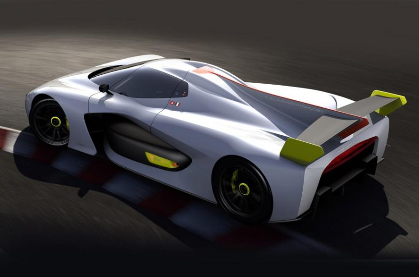 Pininfarina H2 Speed concept, a hydrogen supercar Image #453150