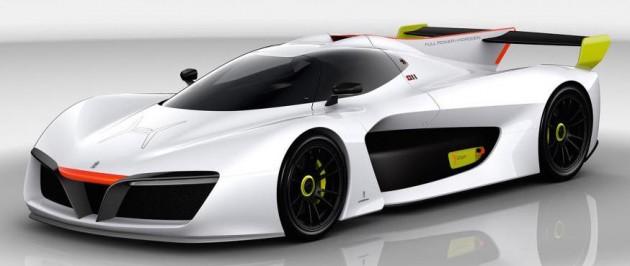 Pininfarina H2 Speed Concept: Pininfarina H2 Speed Concept, A Hydrogen Supercar