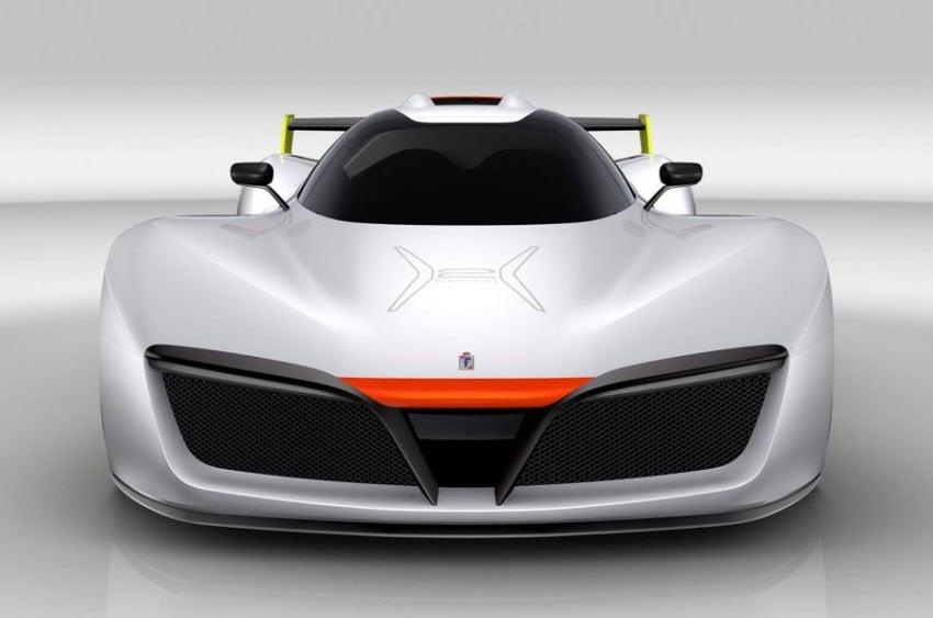 Pininfarina H2 Speed concept, a hydrogen supercar Image #453151