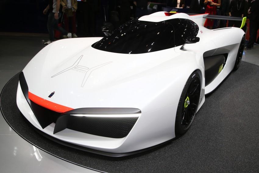 Pininfarina H2 Speed concept, a hydrogen supercar Image #453155