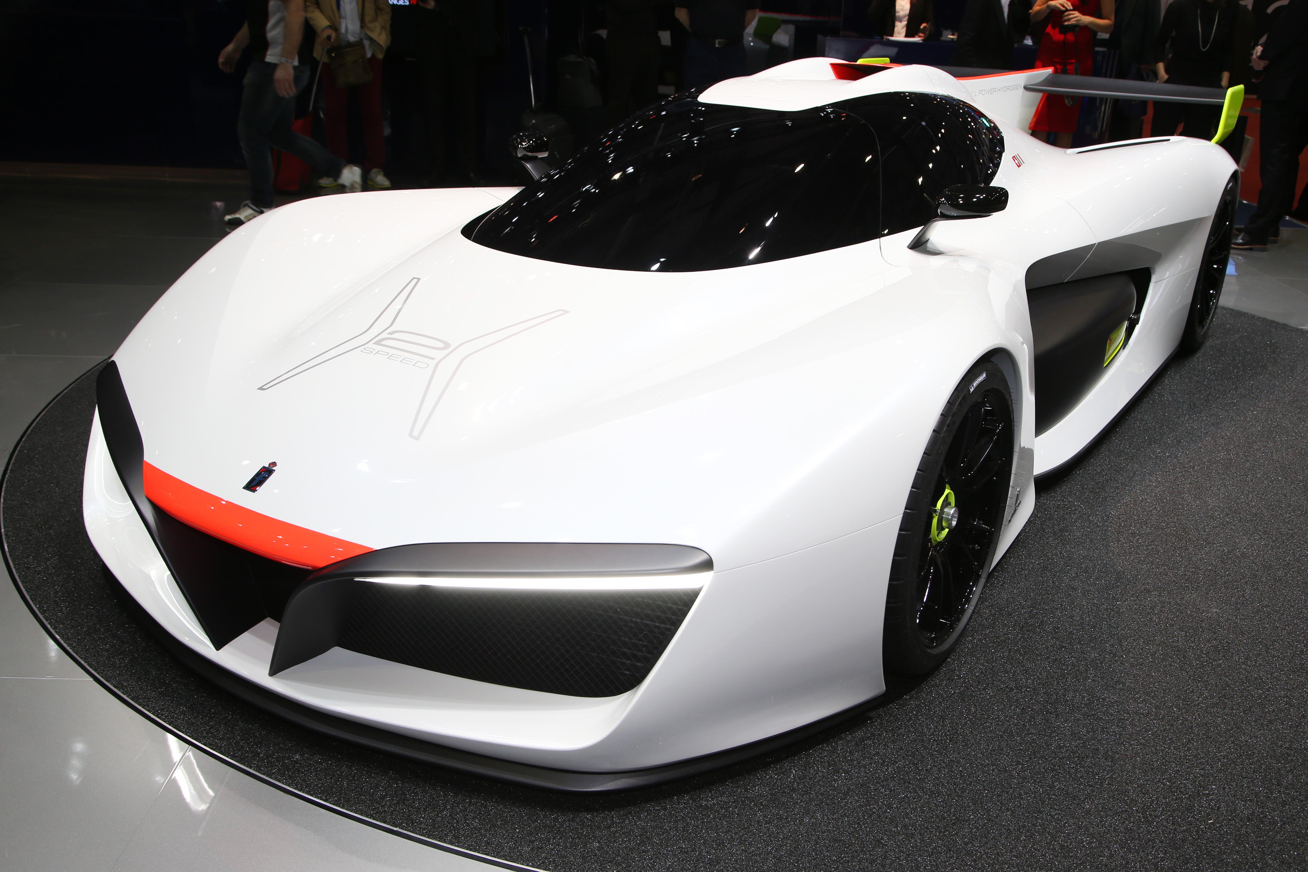 Pininfarina H2 Speed Concept: Pininfarina H2 Speed Concept, A Hydrogen Supercar Image 453155