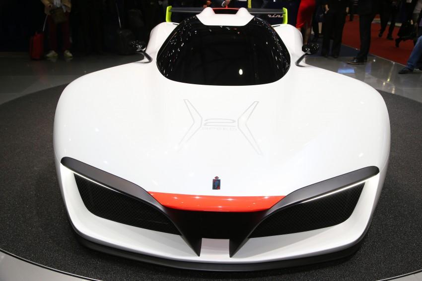 Pininfarina H2 Speed concept, a hydrogen supercar Image #453156