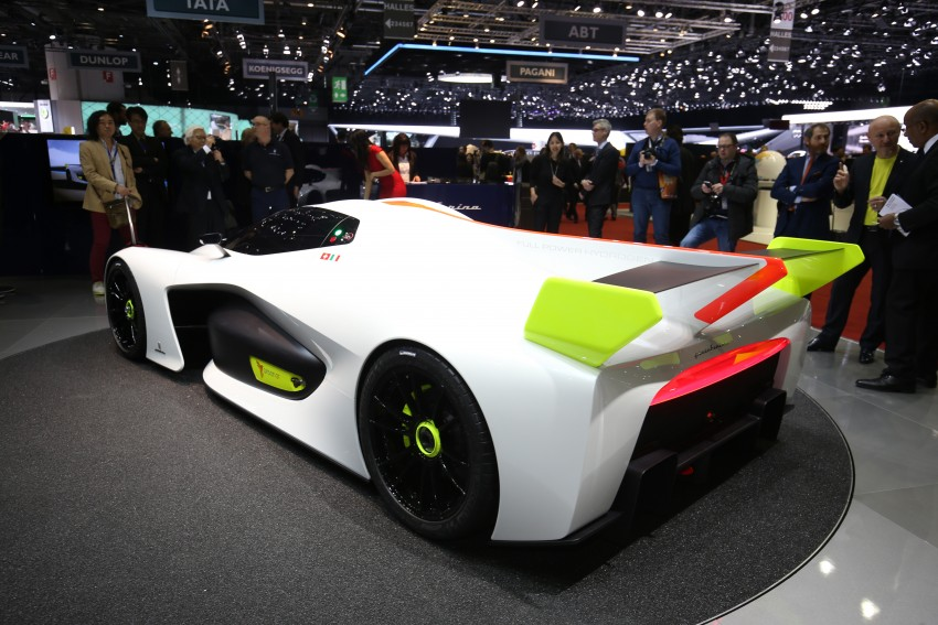 Pininfarina H2 Speed concept, a hydrogen supercar Image #453158