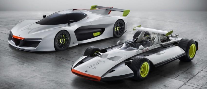 Pininfarina H2 Speed concept, a hydrogen supercar Image #453134
