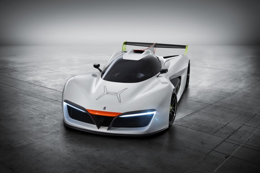 Pininfarina H2 Speed concept, a hydrogen supercar Image #453138