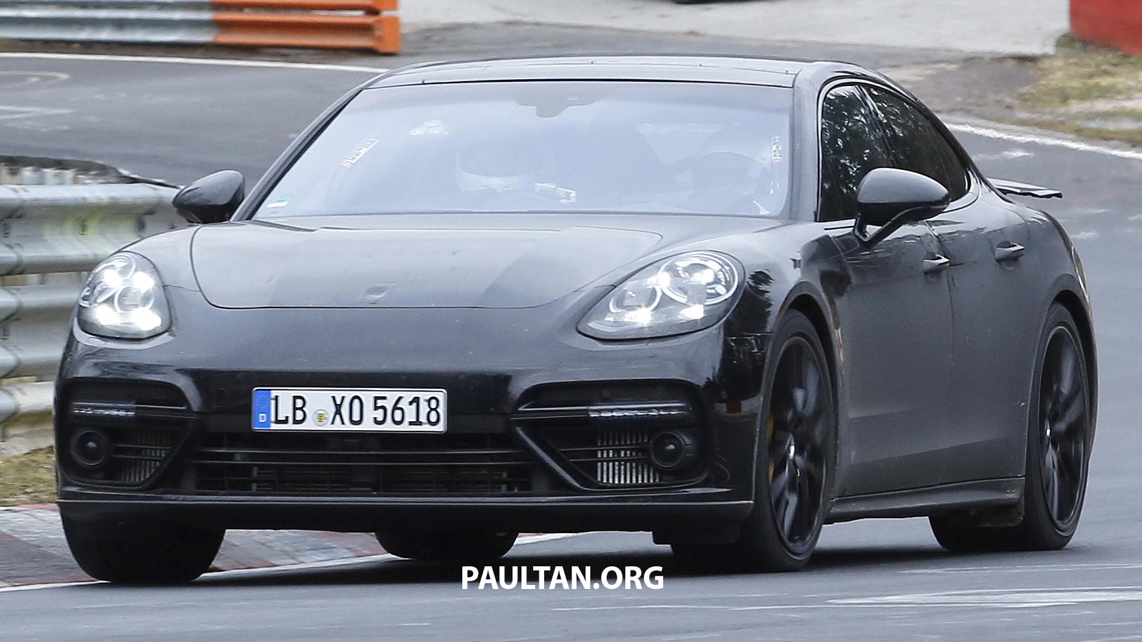 SPYSHOTS 2017 Porsche Panamera given a work out